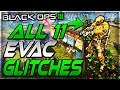 Black Ops 3 Glitches : All 11 Best Working Glitches Evac - High Spots, Wallbreaches and Crouch Jump