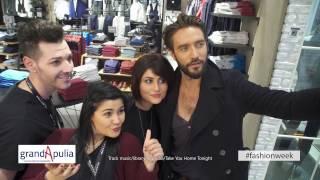 GrandApulia | Fashion Week: Teaser con Alex Belli - CLAYTON