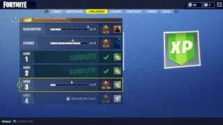 Fortnite Battle Pass Semana 3 Buscar mapa del tesoro en Salty Springs