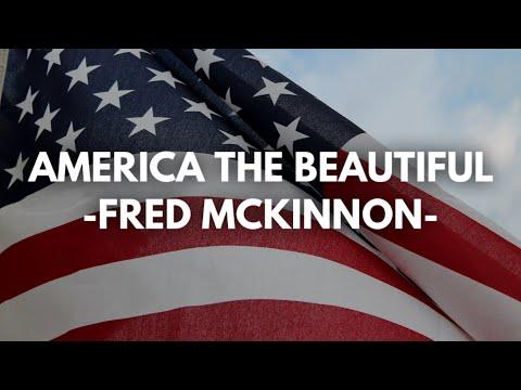 America the Beautiful (Solo Piano, Fred McKinnon)