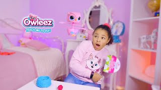Owleez Flying Owl Toy Hunt at Pretend Play Store with Isabel and her Puppy Friend Bella