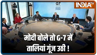 On last day of G-7 Summit, PM Modi stresses on TRIPS waiver, International Solar Alliance