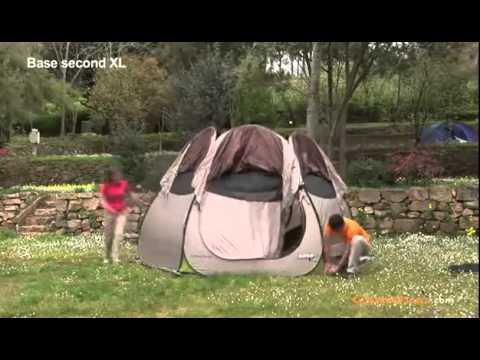 quechua 2 seconds base seconds xl youtube. Black Bedroom Furniture Sets. Home Design Ideas