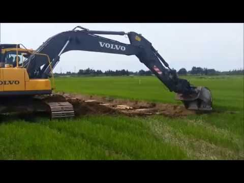 Excavating a lake