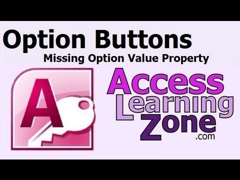 Access Option Group Value 59