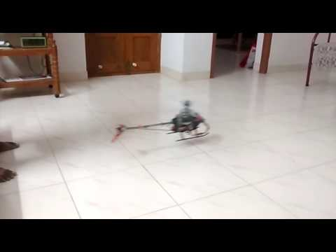 Bent shaft rc helicopter