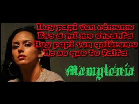 letra lorna papi chulo: