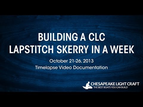 Building a CLC Lapstitch Skerry - HD 1080P