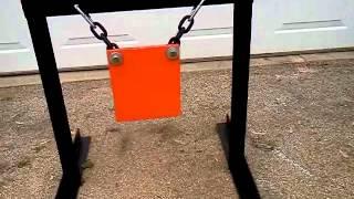 lightweight modular target stand