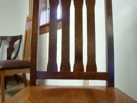 Amish Santa Cruz Dining Chairs (ID: 7966)