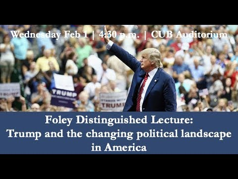Trump and the Changing Political Landscape in America  - Paul Pierson