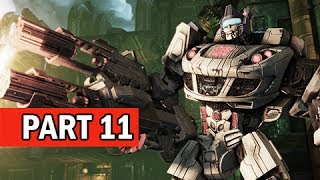 Transformers Rise of the Dark Spark Walkthrough Part 11 - Rescue Mission (PS4 Gameplay Commentary)