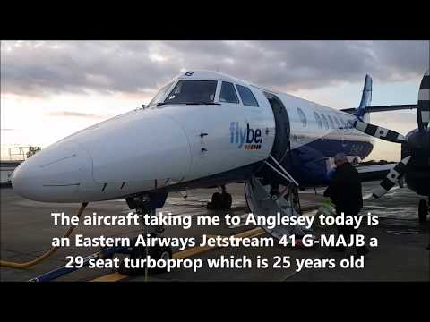 Trip Report: Eastern Airways (Flybe) Cardiff To Anglesey. Wales Only Domestic Route.