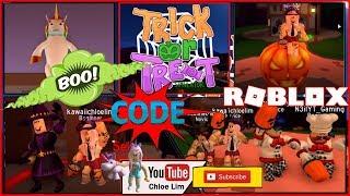🎃 Roblox truco o tratar simulador de juego! 2018 - CODE - ¡Truco o trato a candy RACE! ¡ADVERTENCIA LOUD!