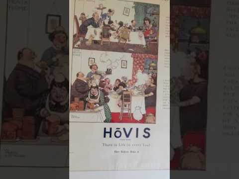 History is in everything. Check out these Hovis posters from 1960's/70's