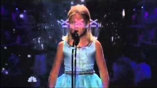 "Jackie Evancho ""Time To Say Good Bye""."
