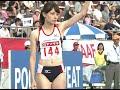 陸上 日本選手権 女子200m 決勝 福島 日本記録