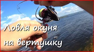 Вертушка, которая нравится окуню. Рыбалка на блесну с берега.