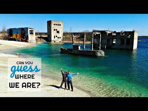 Underwater Prison | Estonia's Best Hidden Beach | Rummu, Estonia