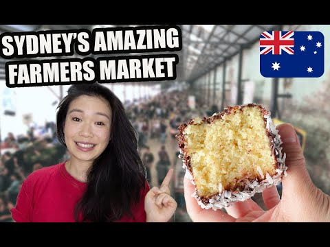 MUST-VISIT SYDNEY FARMERS MARKET (CARRIAGEWORKS)  | BEST THINGS TO DO & EAT IN SYDNEY 2020