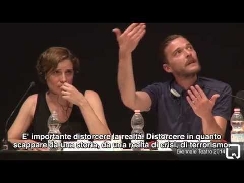 Biennale Teatro 2014 - A meeting with resident companies