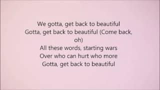Download Sofia Carson - Back to Beautiful (Lyrics)