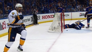 Fiddler pokes puck past Allen to give Predators the lead