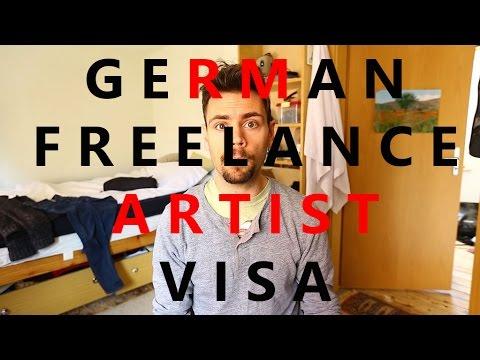 GERMAN FREELANCE ARTIST VISA Application Explained