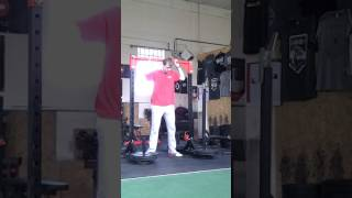 Mike - Jerk Recovery 145 Kg @ 80 Kg 13 May 2017