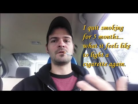 I Quit Smoking For 5 Months... Cigarette Cravings Are DANGEROUS!