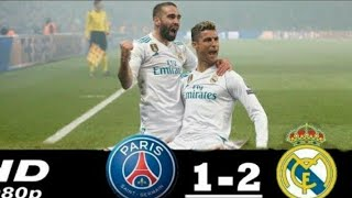 Real madrid vs psg 2-1 agg(5-2) all goals and highlights 2nd leg