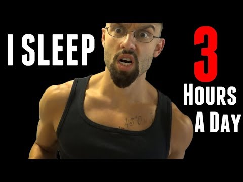 What I Learned From Sleeping 3 Hours A Day - Polyphasic Sleeping