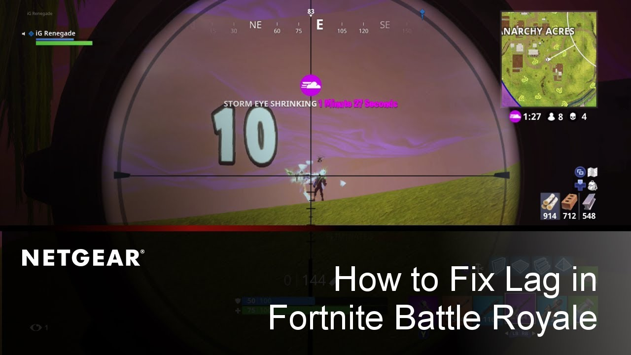 How To Block Fortnite Router How To Fix Lag Increase Performance In Fortnite Battle Royale Youtube