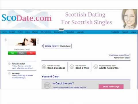 ScoDate.com - Scottish Dating for Scottish Singles