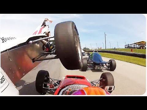 DUFFUS Racer Nearly Decapitated | Keep Calm and Race On