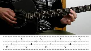 Bron Yr Aur Lesson with Tabs & Cover
