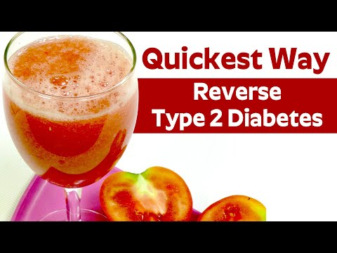 Quickest Way To Reverse Type 2 Diabetes.? | Home Made Juice For Cure Diabetes
