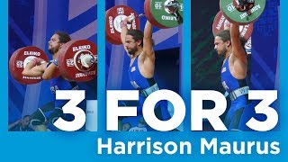Harrison Maurus | 3 for 3 - Clean & Jerk