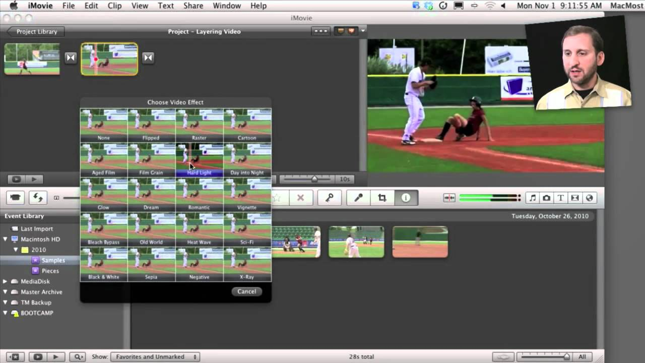 iMovie 11 Video Effects (MacMost Now 473)