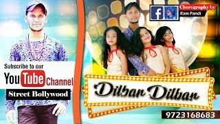 Dilbar song dance choreography by ram pandi from i rock crew