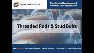 Our In Stock Inventory of Threaded Rods & Stud Bolts