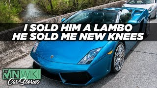 I sold a Lambo to the guy I bought my knees from