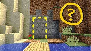 How to make a secret door in minecraft