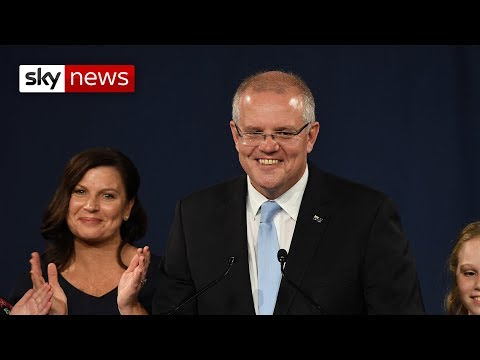 Australian PM Scott Morrison wins surprise re-election