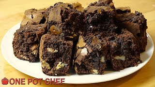 ultimate nutella brownies one pot chef