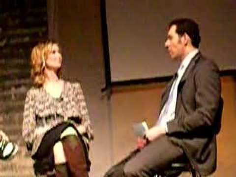 Cynthia Nixon Interview Live! April 2008 (Rare!)