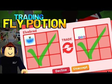 8 Big Trades For Fly Potion!! Adopt Me