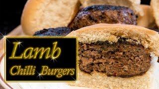 Lamb Chili Burgers