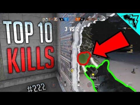 10 INCREDIBLE PLAYS - Rainbow Six Siege Top 10 Kills - WBCW #222