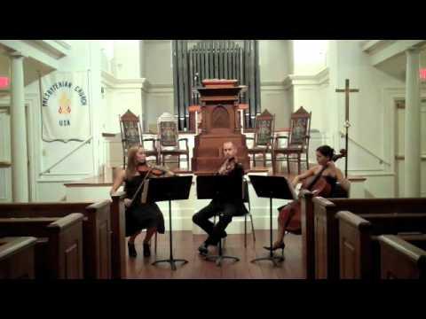 G.F.Handel Andante from The Water Music - Charleston String Trio The Charleston Virtuosi